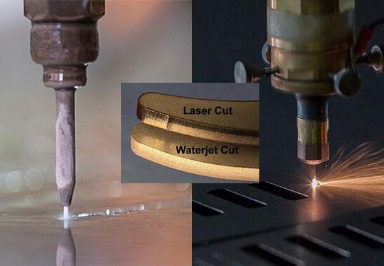 Waterjet Vs Laser Cutting