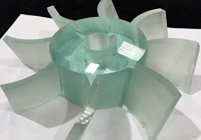 Waterjet Glass Cutting